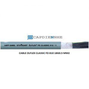 Cáp Tín Hiệu Lapp kabel 0026106 OLFLEX CLASSIC FD 810 18G0.5 MM2