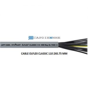Cáp Tín Hiệu Lapp kabel 1119802 CABLE OLFLEX CLASSIC 110 2X0.75 MM