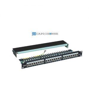 Alantek Cat5e Patch Panel UTP 24-port 302-201001-2400