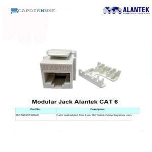 ALANTEK CAT6A FTP JACK 302-2QX6AF-00AB