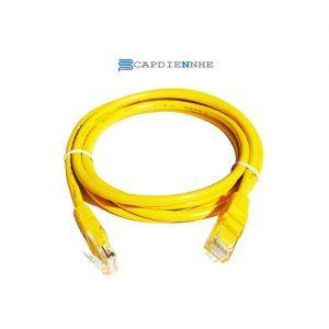 Cáp Mạng Alantek Cat6 Moulded UTP P/cord 7FT, yellow 302-4MU076-FTYL