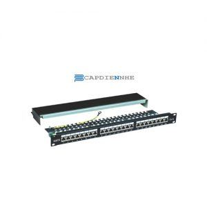 Alantek Cat6 Patch panel 24 port 302-201601-24AB