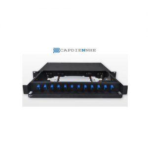 Cáp Quang Alantek Wall mount Blank Fiber Optic Box 1U 306-8WSBLN-0000