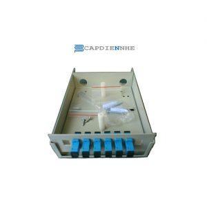 Cáp Quang Alantek Wall mount fiber enclosures, ST 6 port 306-8W0006-MM01