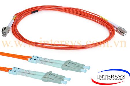 Hình ảnh : dây nhảy quang Multimode LC-LC / Optical patch cord LC-LC/ UPC