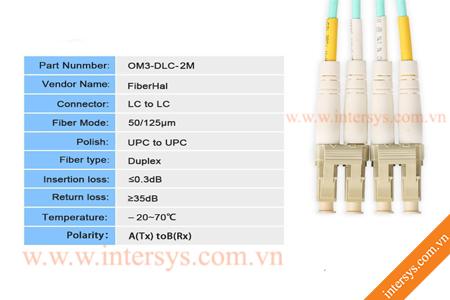 Hình ảnh : Dây Nhảy Quang OM3 Multimode LC-LC