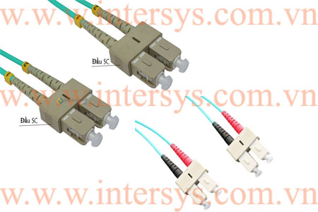 Hình ảnh : Dây Nhảy Quang OM3 Multi-Mode SC-SC, Patch Cord OM3 Multi-Mode SC-SC