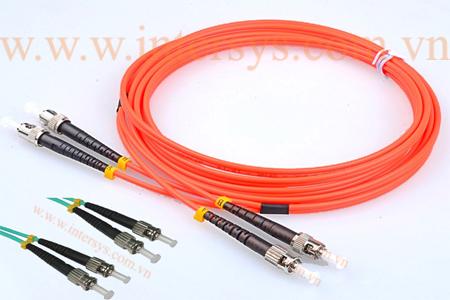 Hình ảnh : Dây Nhảy Quang Multimode ST-ST / Optical patch cord ST-ST/ UPC