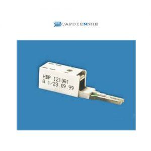 ADC KRONE ADSL - Single pair protection Plug 5-point w/ PTC - ComProtect 2/1 CP BI 180A1 (bandwidth up to 8Mpbs) (for HIGHBAND) (Box of 10 pcs w/ earth bar) 7042 1 002-00