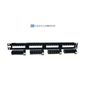 AMP Patch Panel Cat 5e 24port, SL SERIES 1479154-2