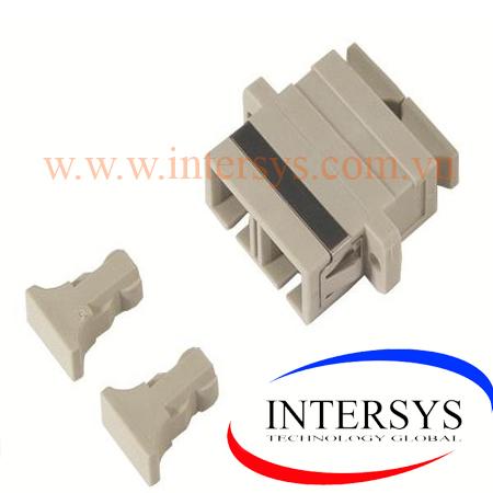 Hình ảnh :1-5502776-1 AMP Fiber Optic Coupler, Duplex SC, SM